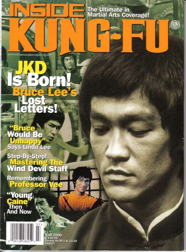 Bruce Lee's Lost Letters : Inside Kung Fu July 2000